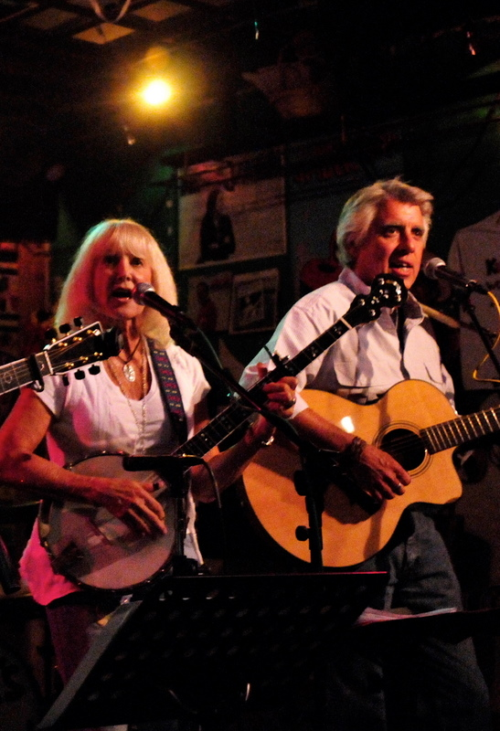 Jackie and Gary performing at Kulak's in California